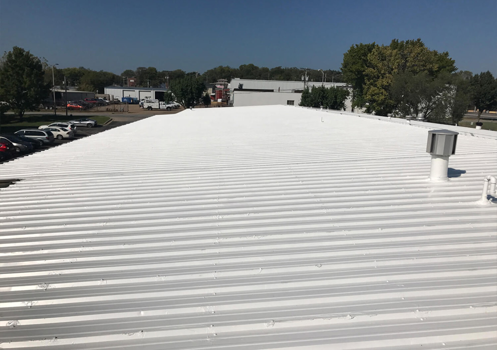 Metal Roof Sealing